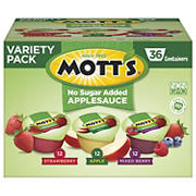 Mott's Applesauce Variety Pack, 36 ct.