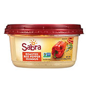 Sabra Roasted Red Pepper Hummus, 1 lb. 14 oz.