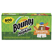 Bounty Football Prints Quilted Paper Napkins, 800 ct.