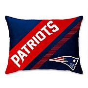 "NFL New England Patriots 20"" x 26"" Super Plush Bed Pillow"