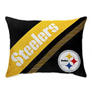 "NFL Pittsburg Steelers 20"" x 26"" Super Plush Bed Pillow"