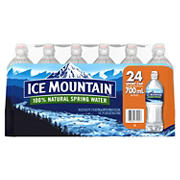 Ice Mountain Natural Spring Water with Sports Cap, 24 pk./23.7 oz.