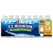 Ice Mountain Natural Spring Water, 40 pk./16.9 oz.