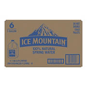 Ice Mountain Natural Spring Water, 6 pk./1 Gal