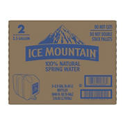 Ice Mountain Natural Spring Water, 2 pk./2.5 gal.