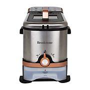 Brookstone 3.2-qt. Digital Deep Fryer with Oil Filtration