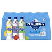 Ice Mountain Flavored Sparkling Spring Water Variety Pack, 24 pk./16.9 oz.