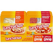 Lunchables Pepperoni & Extra Cheesy Pizza Kits, 6 ct.
