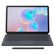 "Samsung Galaxy Tab S6 10.5"" Tablet, 128GB with BONUS Keyboard Cover ($150 VALUE) - Mountain Gray"