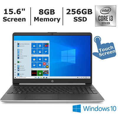 HP 15-dy1074nr Laptop, 10th Generation Intel Core i3-1005G1 Processor,