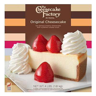 Cheesecake Factory Original Cheesecake, 64 oz.
