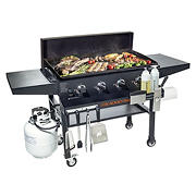 "Blackstone 36"" Gas Griddle with Hard Cover and Front Shelf"