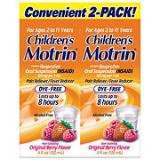 Children's Berry Flavored Dye-Free Motrin, 2 pk.