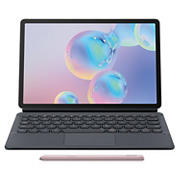 "Samsung Galaxy Tab S6 10.5"" Tablet, 128GB with BONUS Keyboard Cover $150 VALUE - Rose"