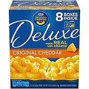 Kraft Deluxe Original Cheddar Macaroni & Cheese, 8 pk.