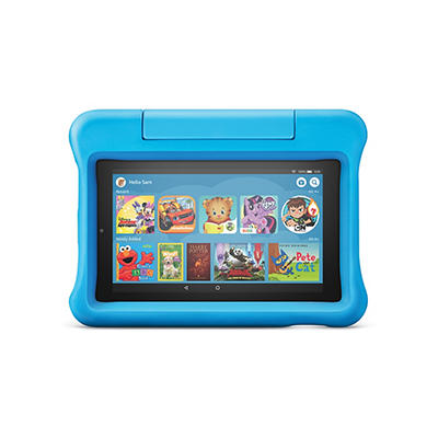 """Amazon Fire 7 Kids Edition 7"""" Tablet, 16GB Memory with 1 Free Year of"""