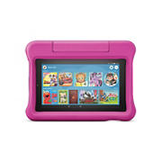 "Amazon Fire 7 Kids Edition 7"" Tablet, 16GB Memory with 1 Free Year of Amazon FreeTime Unlimited - Pink"