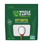Whole Earth Erythritol Sugar Alternative, 4 lb.