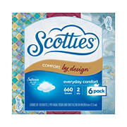 Scotties Comfort by Design Facial Tissue, 6 pk.