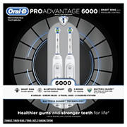 Oral-B ProAdvantage 6000 Rechargeable Toothbrush, 2 pk.
