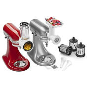 KitchenAid Stand Mixer Shredder, Grinder and Sausage Stuffer Attachment Kit