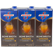 Swanson Chicken Bone Broth, 3 pk.