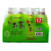 Ito En Oi Ocha Unsweetened Green Tea, 12 ct.