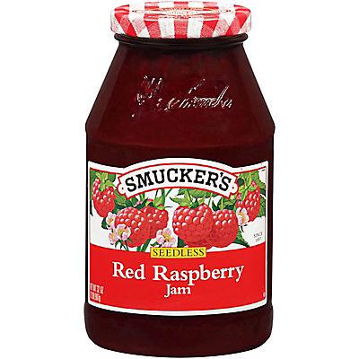 Smucker's Seedless Red Raspberry Jam, 32 oz.