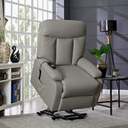 ProLounger Ferdinand Power Lift Tuff Stuff Recliner - Taupe Gray