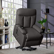 ProLounger Ferdinand Power Lift Tuff Stuff Recliner - Espresso Brown