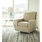 Abbyson Living Fiona Fabric Gliding Chair - Ivory