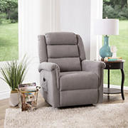 Abbyson Living Everton Power Lift Recliner - Gray