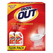 Iron Out Rust Stain Remover Powder, 2 pk.
