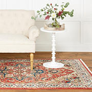 Home Dynamix Wakefield 5' x 7' Area Rug - Red-Ivory