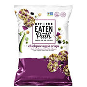Off The Eaten Path Chickpea Veggie Crisps, 20 oz.