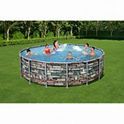 "Bestway Power Steel 16' x 48"" Above Ground Pool Set"