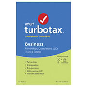 Intuit TurboTax Business Federal Returns and E-File Returns 2019 for Windows