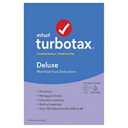 Intuit TurboTax Deluxe Federal Returns and Federal E-File 2019 for Windows/Mac