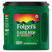 Folgers Decaf Coffee, 33.9 oz.