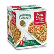 Food Network Inspirations Chicken Pesto Flatbread Dinner Kit, 3 pk.