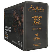 SheaMoisture African Black Bar Soap, 4 pk.