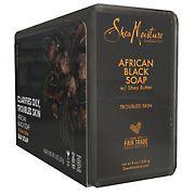 Shea Moisture African Black Bar Soap, 4 pk.