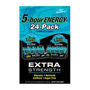 5 Hour Energy Extra Strength Blue Raspberry, 24 pk.
