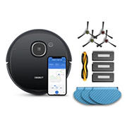ECOVACS DEEBOT OZMO 920 Smart Robot Vacuum & Mopping with Accessory Pack Bundle