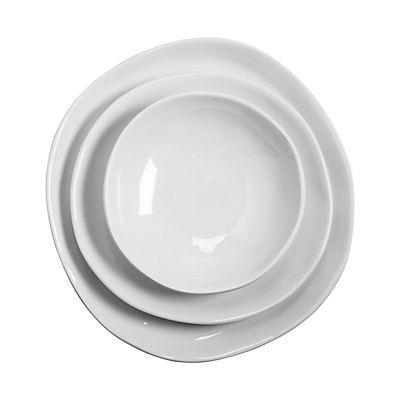 Honey Can Do 3-Pc. Melamine Dinnerware Set - White