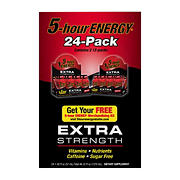 5 Hour Energy Extra Strength Berry, 24 pk.