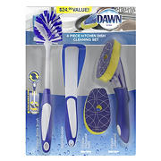 Dawn 4-Pc. Kitchen Dish Cleaning Set