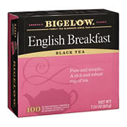 Bigelow English Breakfast Tea, 100 pk.