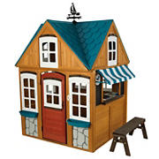 KidKraft Seaside Cottage Outdoor Wooden Playhouse