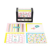 Hallmark Assorted Notecards, 40 pk. - Stripes, Floral, Polka Dots, and Bird